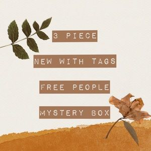 NWT FREE PEOPLE MYSTERY BOX